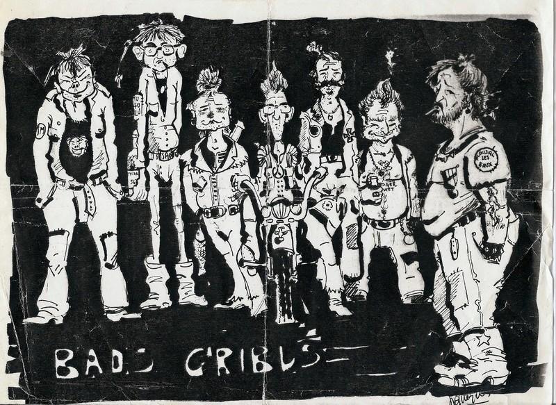 [ LES TRADITIONS DANS LA MARINE ] Les caricatures dans la Marine Carica10