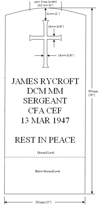 Grave stone of Sgt James Rycroft DCM MM  06_tem10