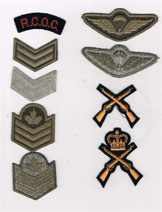 Hodge Podge of ranks and other insignia 80's era? Hodge_10