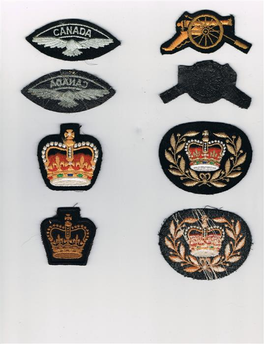Hodge Podge of ranks and other insignia 80's era? Hodge_11