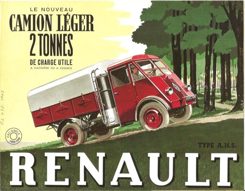 Pub et catalogues RENAULT....les camions Renaul10
