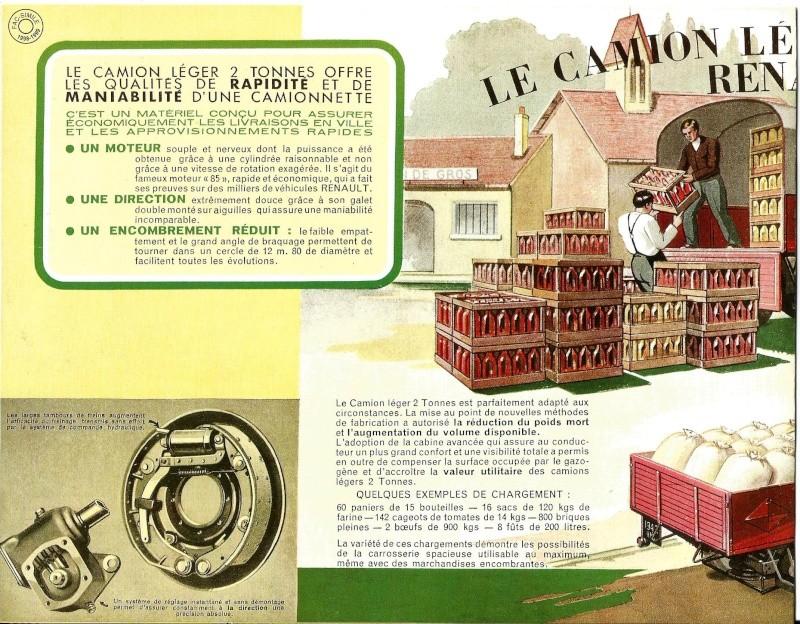 Pub et catalogues RENAULT....les camions Renaul11