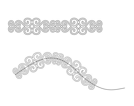 courber texte avec silhouette designer edition Captur10