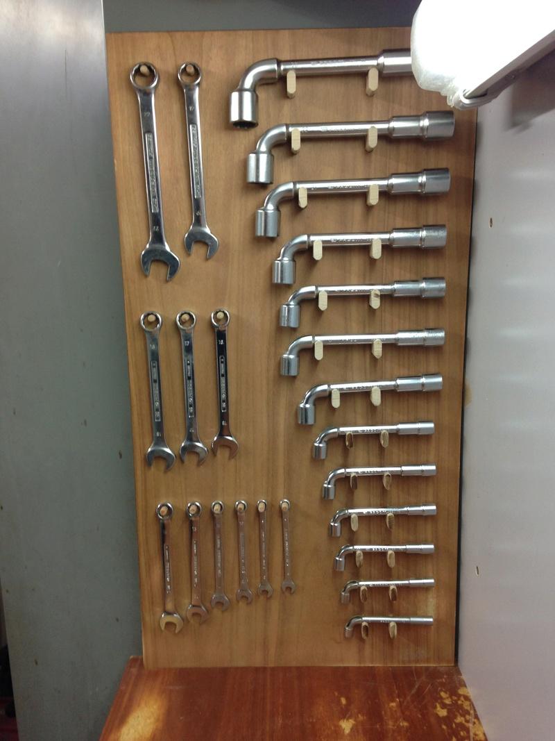 Rangement clés plates et à pipes dans l'atelier Img_1422