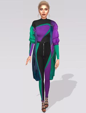 Повседневная одежда (комплекты с брюками, шортами)   - Страница 5 Uten_195