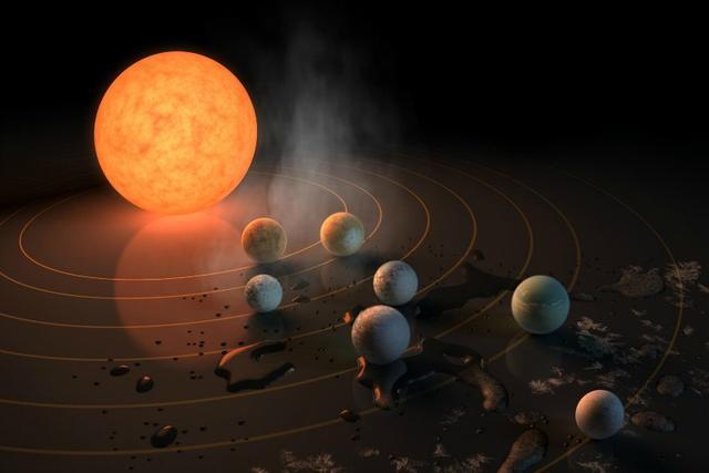 Nouvelle découverte, récente, d'exoplanètes  Exopla10