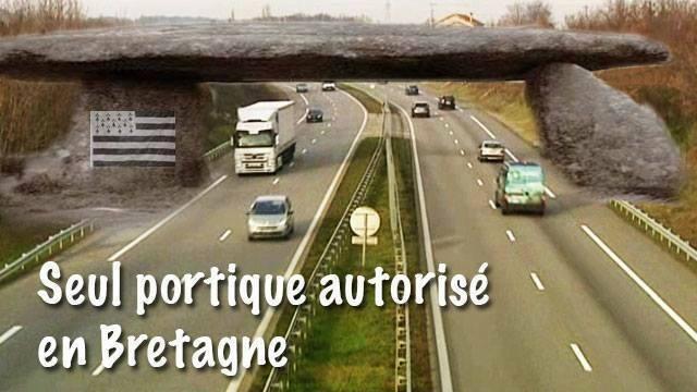 BRETAGNE / NOUVEAUX PORTIQUES ECOTAXE Bretag10
