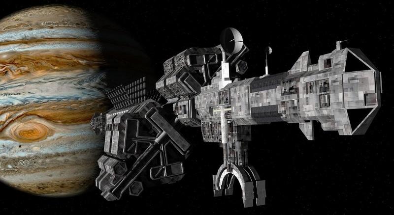 Les vaisseaux de science-fiction survivraient-ils dans l'espace ? 38635510