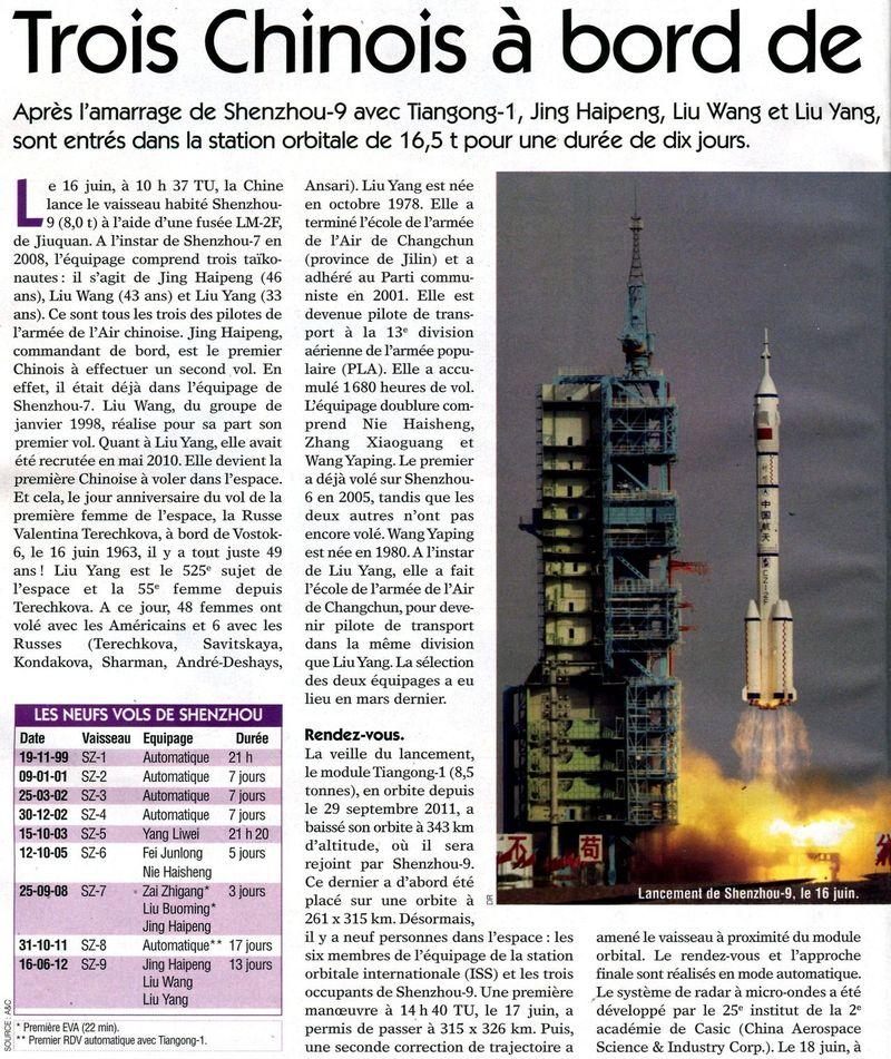 16 juin 2012 - Shenzhou 9 : nouveau vol Chinois habité - Page 5 12062210