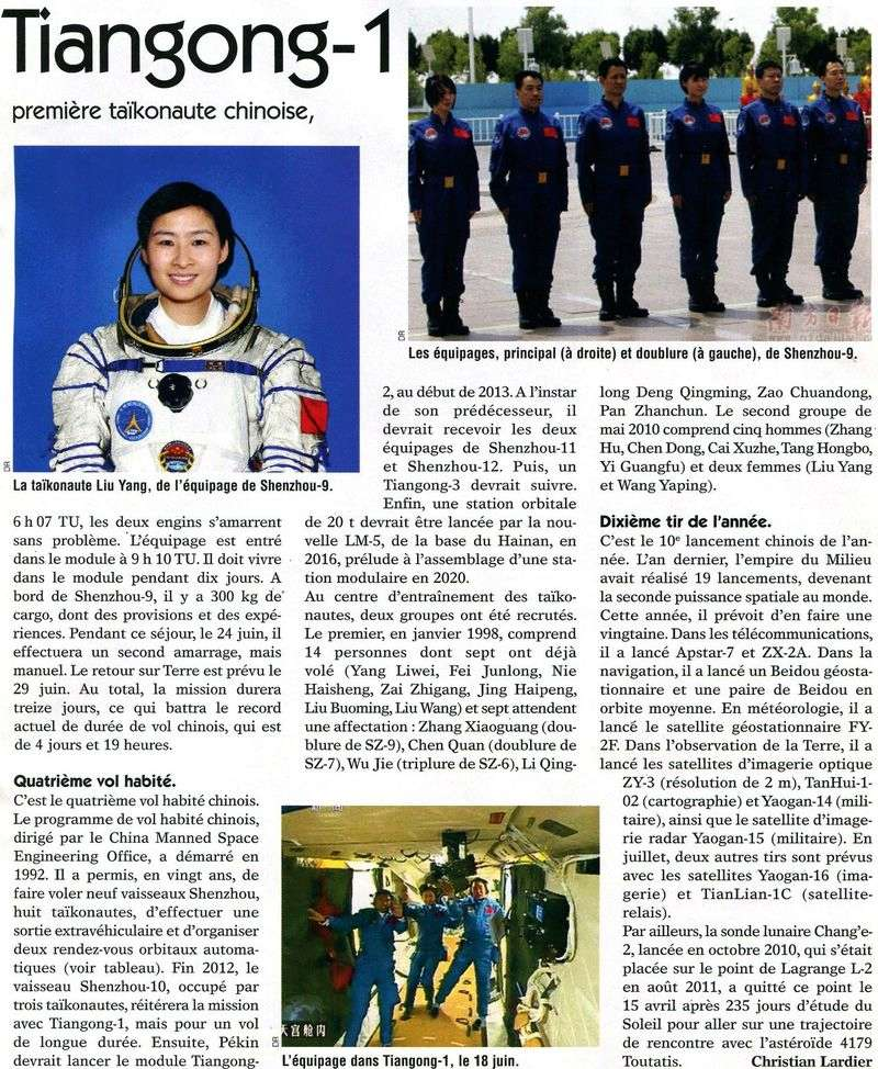 16 juin 2012 - Shenzhou 9 : nouveau vol Chinois habité - Page 5 12062211