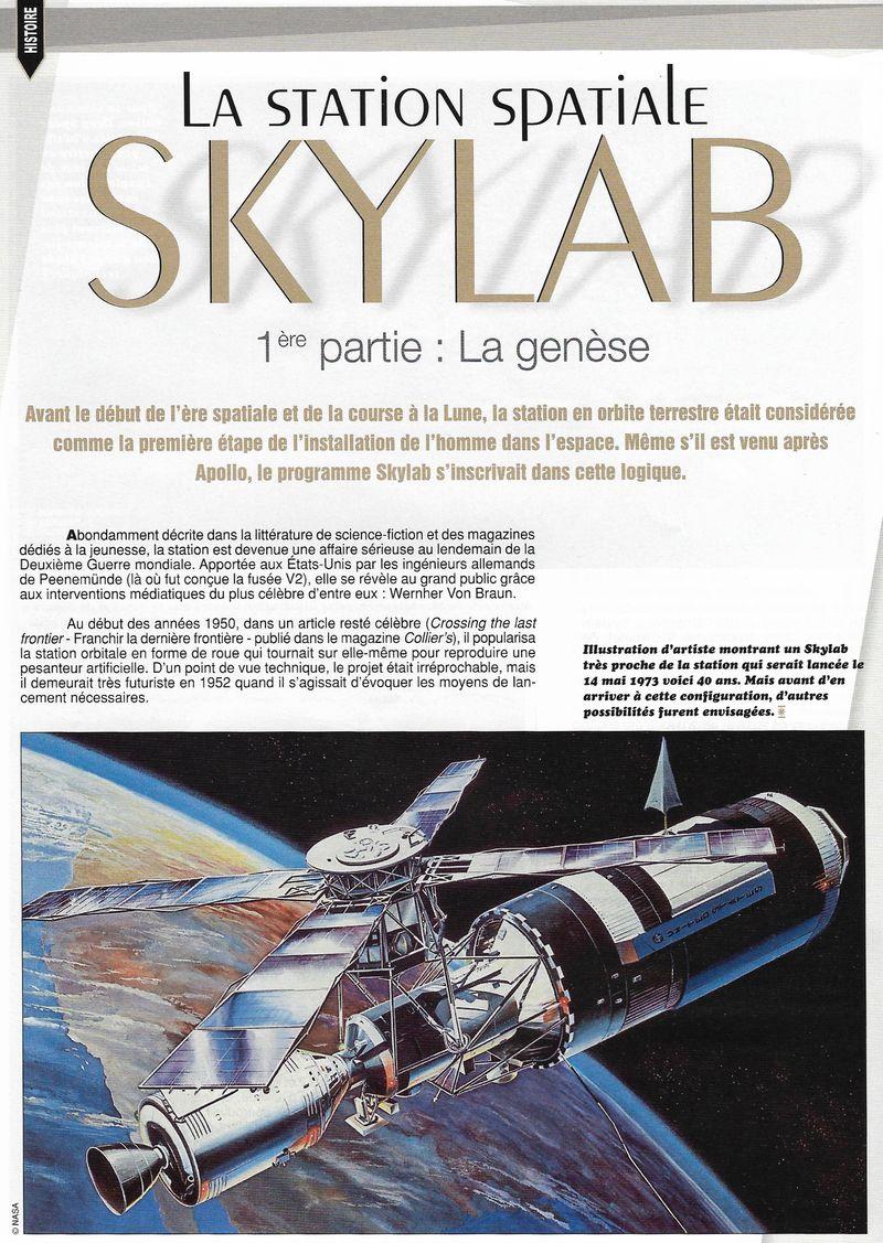 14 mai 1973 - Skylab - Seule station spatiale américaine - Page 3 13070010