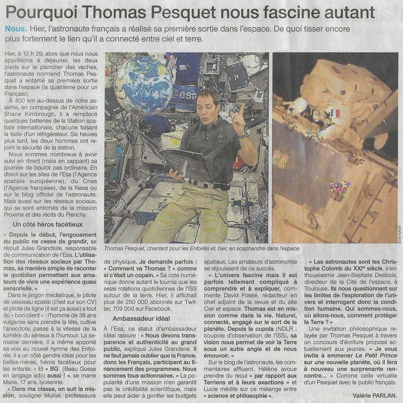 Thomas Pesquet : une âme d'explorateur - Page 6 17011410
