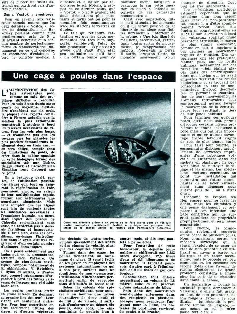 Vostok 5, Vostok 6 - 14, 16 juin 1963 - 1ers vols conjoints 63071511