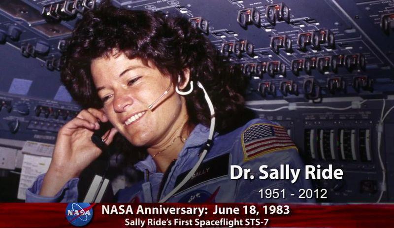 Sally Ride - 1ère américaine dans l'espace Annive10