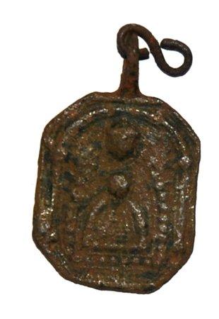 Médaille avers: saint sacrement  revers : notre dame du Puy. XVII -XVIII ém Dsc_8611