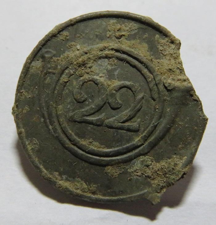 22e Chasseurs à pied .Période probable 1808 -1815 Img_0722
