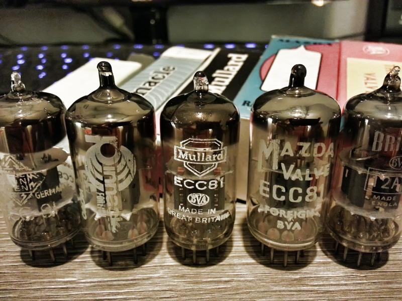 Vacuum Tube, 12au7, 12ax7, 6dj8 20130518