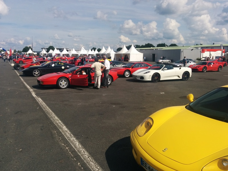 Sport et Collection - 500 Ferrari contre le Cancer Img_2070