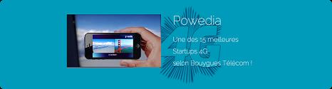 Powedia élu parmi les 15 meilleures startups 4G par Bouygues Telecom 13814010