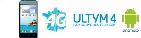 Ultym 4: le 1er Smartphone 4G à bas coût par Bouygues Telecom  13830210