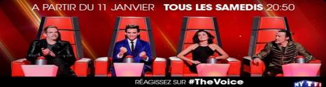 La 4G de Bouygues Telecom sponsorise l'émission: The Voice 13899510