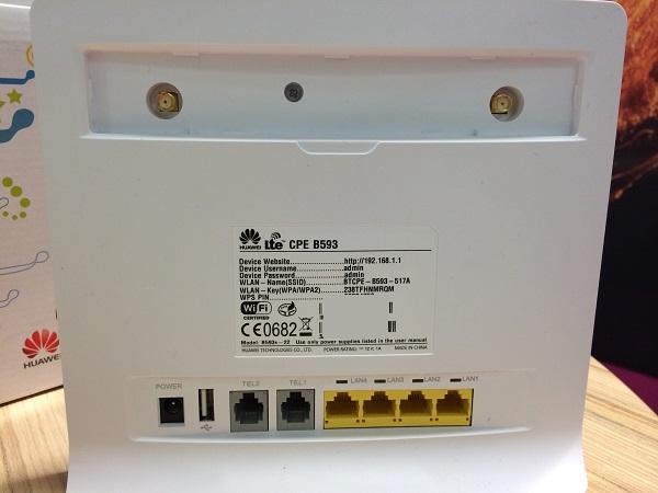 [TEST] Routeur 4G Huaweï B593, chez Bouygues Telecom Entreprise 2014-017