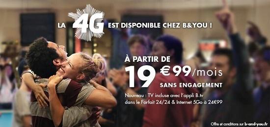 La 4G arrive sur B&You dès demain mardi 17 décembre sans surcoût  4gbyou10