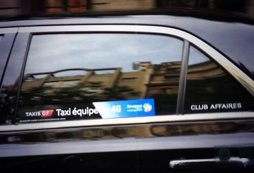 Les Taxis G7 offre à leurs clients, la 4G du réseau Bouygues Telecom. 81768810