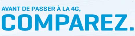 Nouvelle pub comparative du réseau 4G par Bouygues Telecom Bancom10