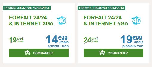 B&You baisse le prix de 5€ pendant 6 mois sur le forfait 3Go ou 5Go Bandyo10