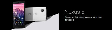 Google Nexus 5, prochainement disponible chez Bouygues Telecom Banexu10