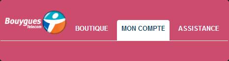 Clin d'oeil pour la St Valentin sur votre Espace Client Bouygues Telecom. Bannva10