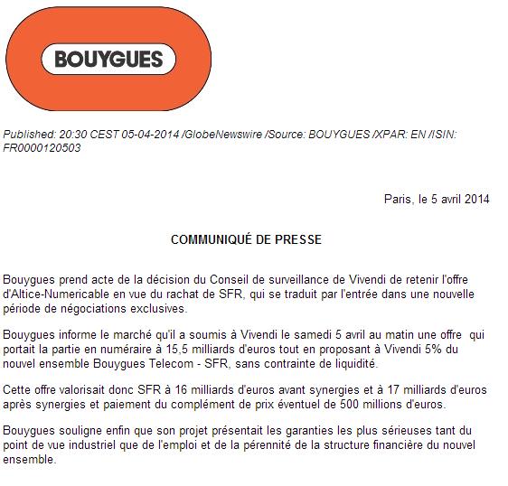 Vivendi retient l'offre d'Altice/Numericable sur SFR Bygues10