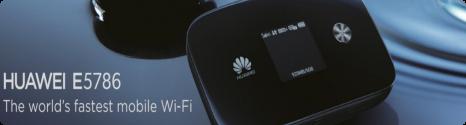 le premier hotspot compatible LTE-A le E5786 est annoncé par Huaweï E578610