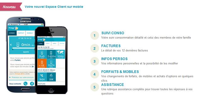 Espace client mobile Bouygues telecom fait peau neuve! Ecm10