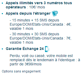 Forfait bloqué: L'usage internet mobile passe à 500Mo pour le même prix Fbopti10