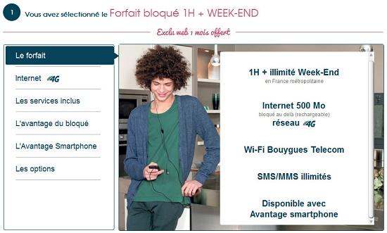 Forfait bloqué : l'accès à la 4G est inclus Fbum4g10