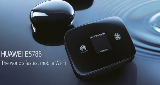 le premier hotspot compatible LTE-A le E5786 est annoncé par Huaweï Huawei10