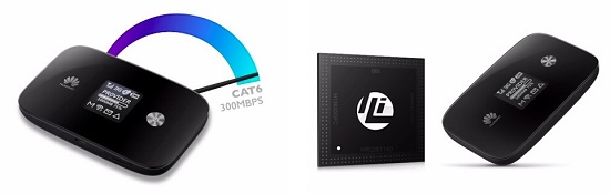 le premier hotspot compatible LTE-A le E5786 est annoncé par Huaweï Huawei11