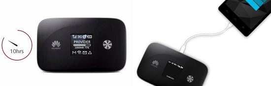 le premier hotspot compatible LTE-A le E5786 est annoncé par Huaweï Huawei12