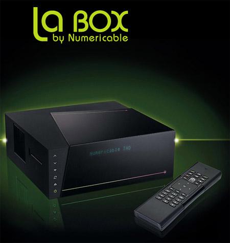 Des nouveautés annoncées chez Numericable La-box10
