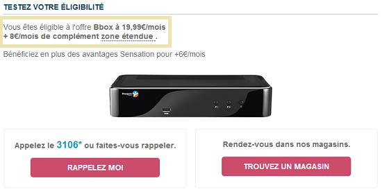 La nouvelle offre Bbox à partir de 19.99€ est disponible Nvlleo10