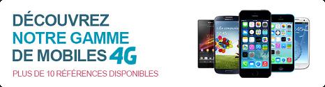 La boutique de mobiles d'occasion s'enrichit de smartphones 4G Reco10