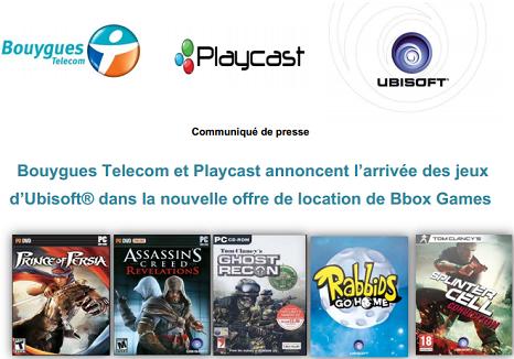 les évolutions de l'offre Bbox games pour la fin d'année  Ubi10