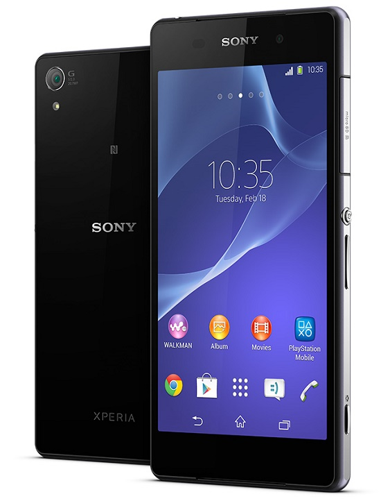 Xperia Z2 disponible dans la boutique Bouygues Telecom Xperia10