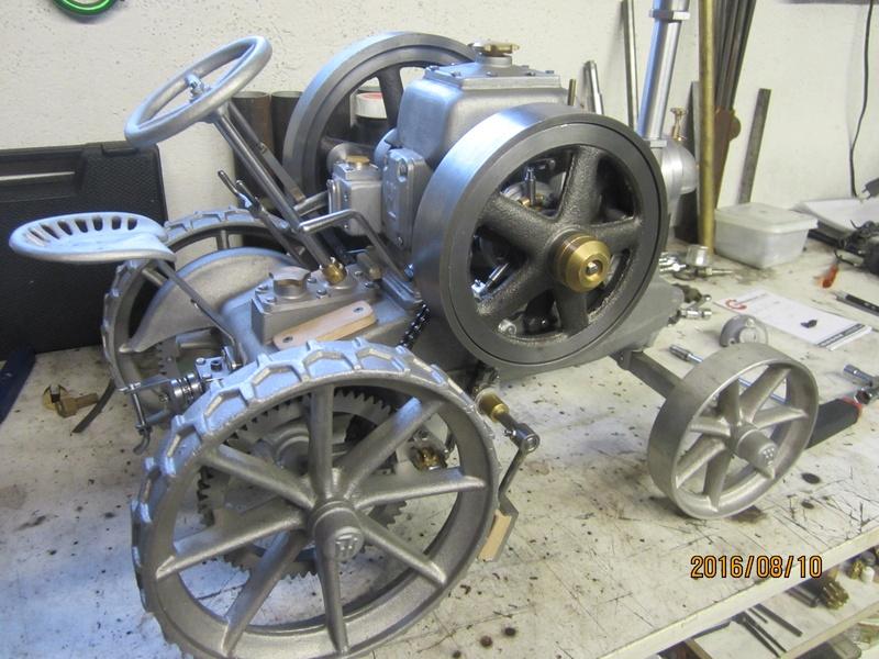 """tracteur lanz : fabrication d'une """"miniature""""  002_1710"""