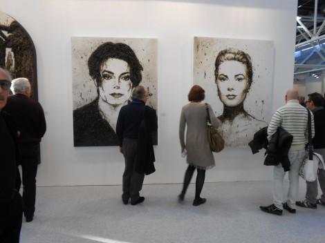 """Bologna: """"Arte Fiera 2014″ dal 24 al 27 Gennaio (quadro di Michael Jackson) Arte-f10"""