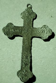 Petite croix Souvenir de Mission - début XXème B10e10