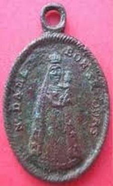 Médaille St-Ignace-de-Loyola & ND-du-bon-conseil ou du-bon-secours - XVIIIème Images10