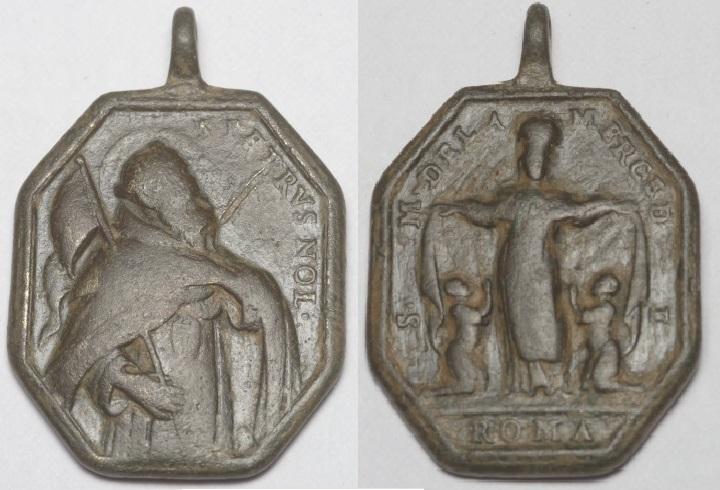 Médaille octogonale - ND de la Merced/St-Raymond-Nonnat - antérieure à 1657 Imgp7110